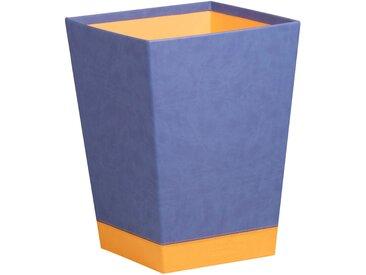 Rhodiarama Corbeille à papier 27x27x32 cm. - Saphir