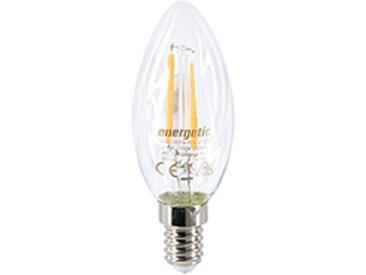 Ampoule LED Filament Flamme Torsadée - E14 25W