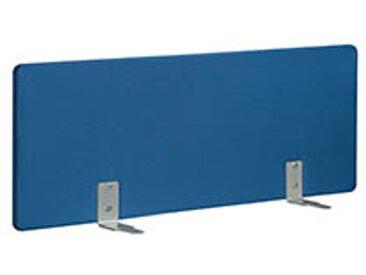 Panneaux écrans acoustiques L 120 cm bleu fixation alu pour bureaux Bench