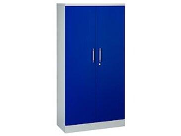 Armoire portes battantes couleurs fun H 180 cm - bleu