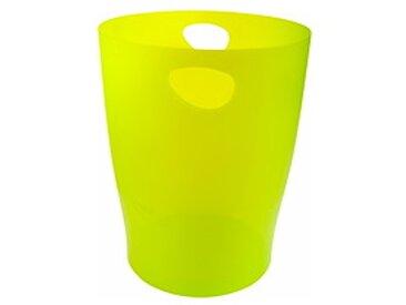Corbeille à papier Ecobin Exacompta citron vert