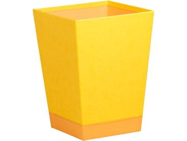 Rhodiarama Corbeille à papier 27x27x32 cm. - Jonquille
