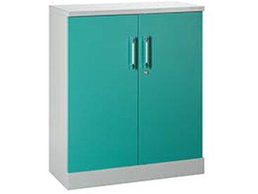 Armoire portes battantes couleurs fun H 107 cm - vert
