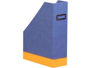 Rhodiarama Porte-revues 10x25x31 cm. - Saphir - Lot de 2