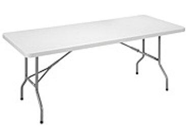 Table pliante d'exterieur L 183 - P 76 cm