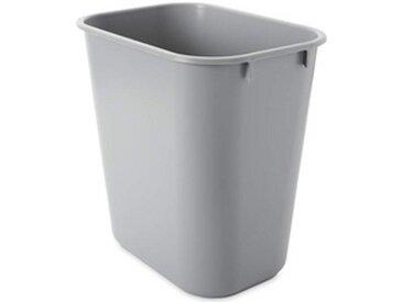 Corbeille à papier, 12,9 litres, rectangulaire - Lot de 3