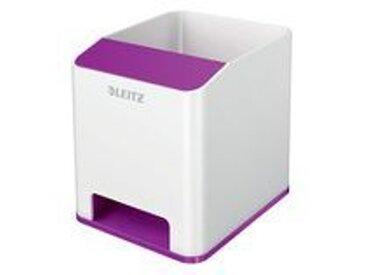 Pot à crayons Sound WOW Duo Colour, violet - Lot de 3
