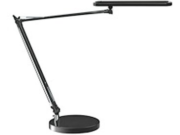 Lampe de bureau Led à double bras articulé - noir