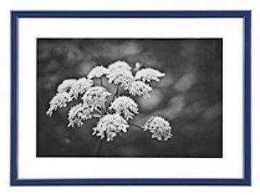 Cadre aluminium pour exposition - 40 x 50 cm bleu