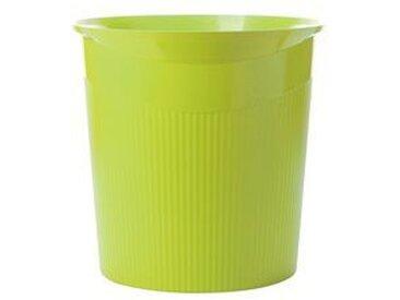 Corbeille à papier LOOP Trend Colour, 13 litres, lemon - Lot de 4