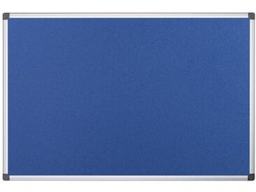 Tableau en feutre 'Maya', 1.200 x 900 mm, bleu