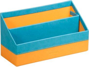 Rhodiarama Porte-courrier 25x10x14 cm. - Turquoise - Lot de 2