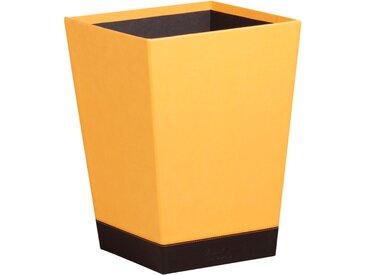 Rhodiarama Corbeille à papier 27x27x32 cm. - Orange