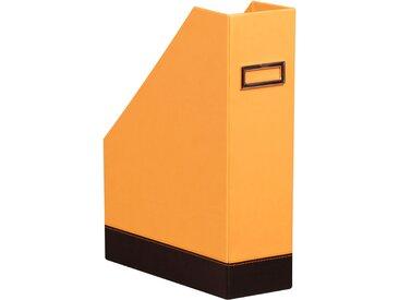 Rhodiarama Porte-revues 10x25x31 cm. - Orange - Lot de 2
