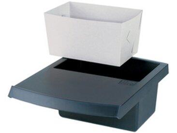 Insert à déchets pour corbeille à papier 1849, noir - Lot de 3