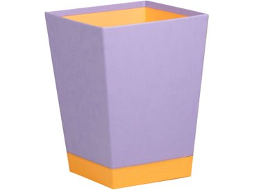 Rhodiarama Corbeille à papier 27x27x32 cm. - Iris
