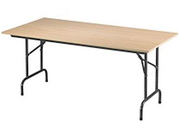Tables pliantes Rico 160 x 80 cm piétement noir