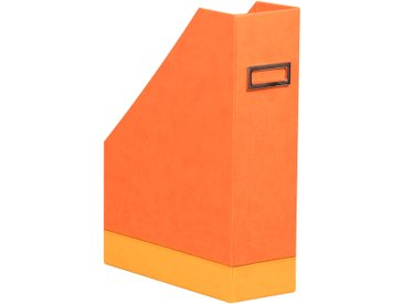 Rhodiarama Porte-revues 10x25x31 cm. - Tangerine - Lot de 2