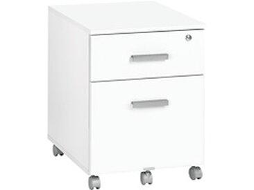 Caisson mobile Ineo blanc 2 tiroirs
