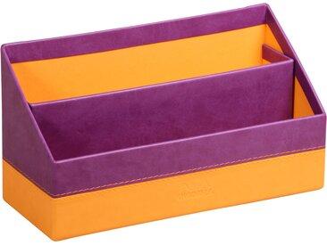 Rhodiarama Porte-courrier 25x10x14 cm. - Violet - Lot de 4