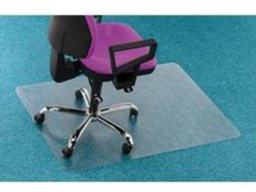 Plaque polycarbonate 119 x 89 cm protège sols tapis-moquettes