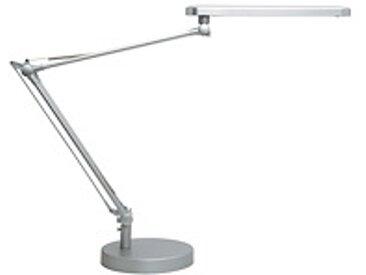 Lampe de bureau Led à double bras articulé - gris