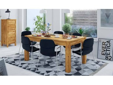 Table en chêne massif avec rallonge - Newik