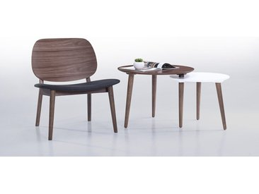 TABLE D'APPOINT MODULABLE NOYER ET BLANC - TWIN