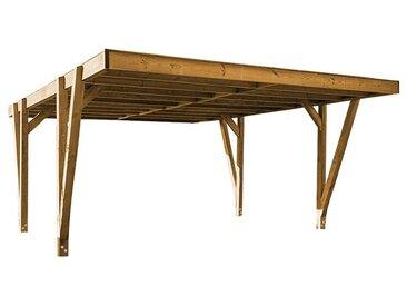 Carport en bois design 23 m2 - Jura