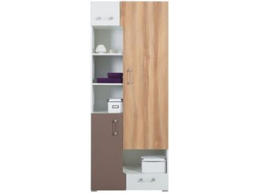 Armoire enfant 3 portes et 1 tiroir - Puzzle