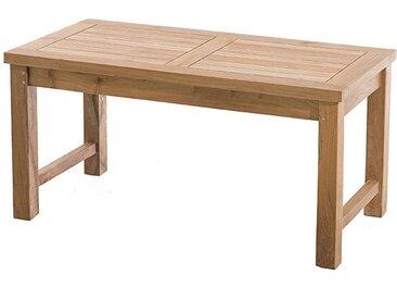 TABLE BASSE DE JARDIN RECTANGULAIRE EN TECK - DELHI