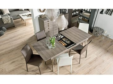 TABLE DESIGN EXTENSIBLE AVEC RALLONGE 160/200/240 CM - LORI
