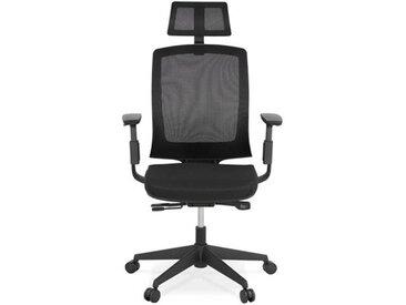 Fauteuil de bureau ergonomique noir - Ralf