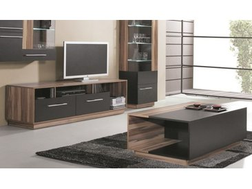 PACK MEUBLE TV + TABLE BASSE BLACK