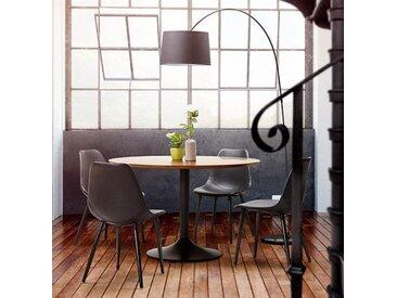 Lampe de sol design noire - Meyer