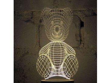 Lampe Bulbing TEDDY BEAR Tridimensionnelle Lumières Led
