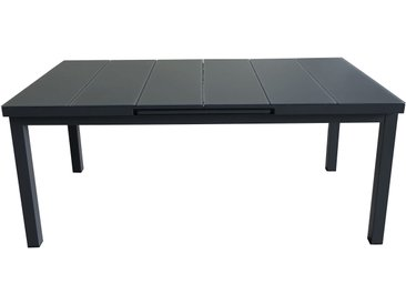 Table de jardin ALU extensible aluminium