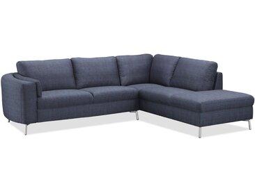 Canapé d'angle droit AROUND CHABLIS tissu