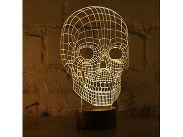 Lampe Bulbing SKULL 3D Lumière Led