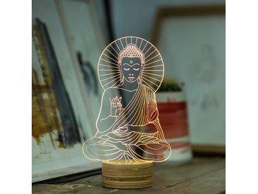 Lampe Bulbing « BUDDHA» 3D À Lumières Led