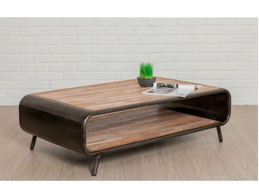 Table basse FUSION Teck recyclé