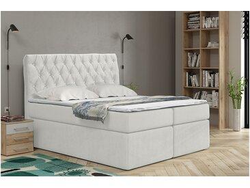Stylefy Antoinette Lit boxspring 90x200 cm Blanc