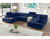 Marokko XL Canapé panoramique Bleu