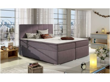 Stylefy Jupiter Lit Boxspring Violet 160x200 cm