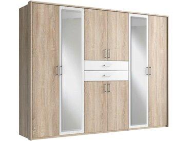 Stylefy Cartaxo Armoire a portes battantes Chene Blanc