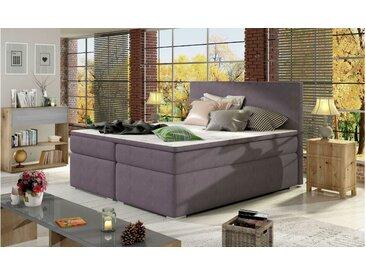 Stylefy Mercury Lit Boxspring Violet 180x200 cm