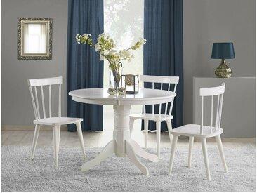 Stylefy Gloster Ensemble Table a Manger Blanc
