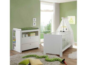 Stylefy Olinda Ensemble de chambre d'enfant Blanc