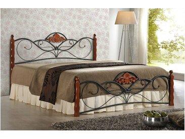 Stylefy VALENTINA Lit métallique (LxLxH): 160x200x104 cm