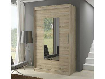 Stylefy Dorrigo Armoire Penderie 200x150x58 cm Sonoma
